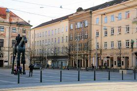 Mährischer Platz (Foto: Martin Strachoň, CC BY-SA 4.0)