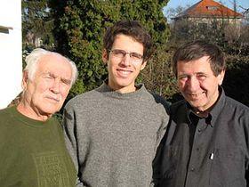 Lubomir, David and Petr Doruzka