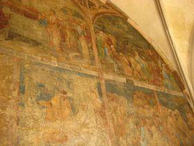 Фрески на стенах Эммаусского монастыря, Фото: Ольга Васинкевич, Чешское радио - Радио Прага