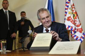 Miloš Zeman, foto: ČTK/Michal Kamaryt