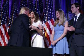 Дональд Трамп с семьей, Фото: ЧТК