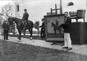 T. G. Masaryk à Topoľčianky, photo: Archives du Château de Prague