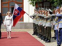 Petr Nečas e Iveta Radičová, foto: ČTK