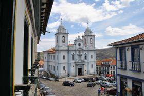 Kostel vDiamantině, foto: Leandro Neumann Ciuffo, Flickr, CC BY 2.0