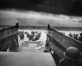 Vor 75 Jahren landeten 150.000 alliierte Soldaten an den Küsten der Normandie (Foto: Wikimedia Commons, Public Domain)