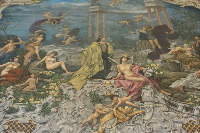 Vorhang in der Prager Staatsoper (Foto: Archiv des Nationaltheaters in Prag)