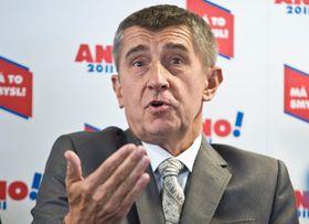 Andrej Babiš, el líder del partido ANO. Foto: Filip Jandourek / Archivo de ČRo