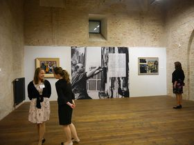 L'exposition 'Poutníci', photo: Magdalena Hrozínková