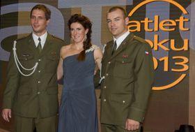 De izquierda: Vítězslav Veselý, Zuzana Hejnová y Lukáš Melich, foto: ČTK