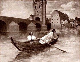 König Wenzel IV. mit seiner Geliebten Zuzana