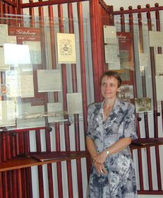 Direktorin des Smetana-Museums in Prag, Dr. Olga Mojzísová