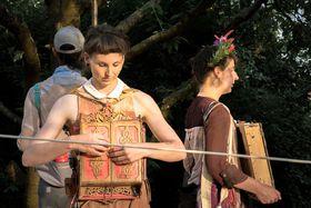 Le cabaret nomade, 'Le cabinet des mémoires', photo: Site officiel du festival Za Dveřmi