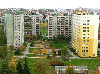 Postmoderne Plattenbauten Tschechische Architektur Nach 1989