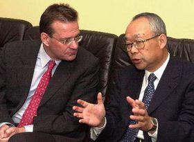 Vice President of PSA Peugeot Citroen Jean-Marc Nicolle (left), photo CTK