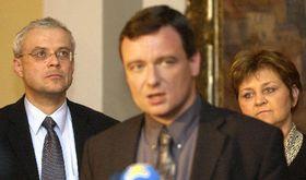 Владимир Шпидла, Давид Рат и Мария Соучкова (Фото: ЧТК)