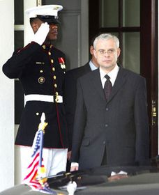 Primer ministro checo, Vladimír Spidla en Washington, foto: CTK