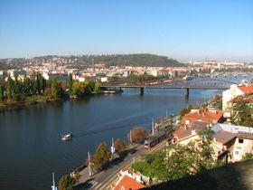 Вид из Вышеграда, Фото: Штепанка Будкова, Чешское радио - Радио Прага