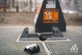 El sensor del contenedor 'inteligente', foto: Smart Prague