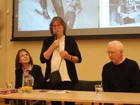 Konstantina Hlaváčková, Helena Koenigsmarková und Peter Ascher (Foto: Martina Schneibergová)
