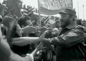 Fidel Castro, foto: ČT
