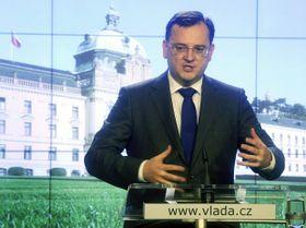 El primer ministro, Petr Nečas. Foto: ČTK