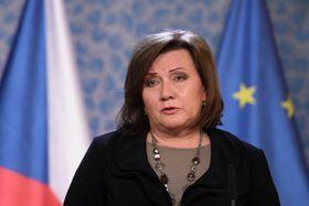 Alena Schillerová (Foto: ČTK / Ondřej Deml)