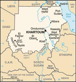 Súdán, zdroj: PL Przemek, Public Domain