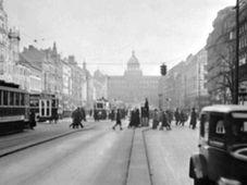 První automaticky řízený semafor fungoval na Václavském náměstí, foto: ČT24