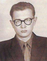 Pavel Vošický in 1959, photo: archive of Pavel Vošický