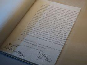 Münchner Abkommen (Foto: Eliška Kubánková)