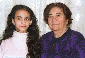 Ilona Lackova and her granddaughter, photo: CTK