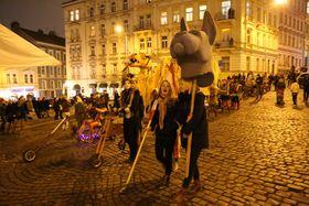 Маскарадная процессия, Фото: Архив мэрии Праги 3