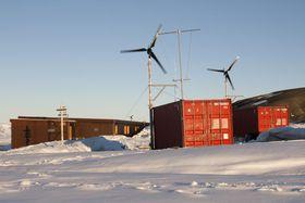 Polární stanice Johanna Gregora Mendela, foto: Jan Russnák, archiv Masarykovy univerzity