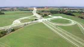 Visualisierung des Autobahnrings von České Budějovice (Foto: Archiv ŘSD)