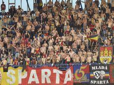Supporters de Sparta, photo:ČTK/Kateřina Šulová