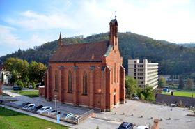 Kirche der heiligen Barbara in Adamov (Foto: Lasy, Wikimedia Commons, CC BY-SA 4.0)