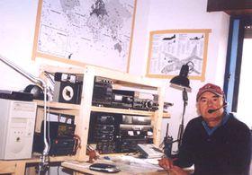 El asiduo oyente de Radio Praga, Francisco Vera