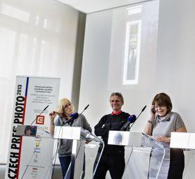 Либа Тэйлор, Петр Йосек и Даниэла Мразкова (Фото: ЧТК)