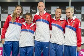El equipo checo, foto: ČTK