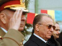 Le Président Ion Iliescu en Tchéquie, photo: CTK