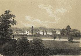 Кладрубский конезавод в 1845 году