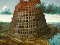 Tower of Babel / Pieter Bruegel / Museum Boijmans Van Beuningen, Rotterdam
