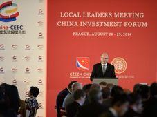 Čínské investiční fórum, foto: ČTK