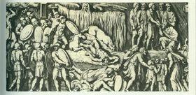Szene aus den Markomannen-Kriegen (Foto: Veleius, Public Domain)