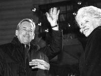 Václav Havel y Olga Havlová, foto: Ondřej Němec, Archivo del Comité de Buena Voluntad, CC BY 4.0