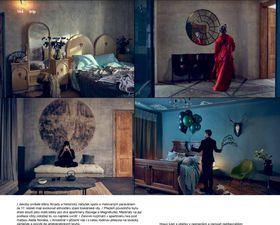Emerald dans Elle Deco (table basse en ardoise en bas à gauche) photo: Urbanium Concept