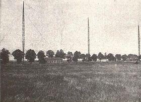 Vysílací stanice ve Kbelích, zdroj: Wikimedia Commons, CC0