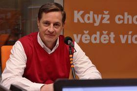 Martin Rozumek, foto: Jana Přinosilová, ČRo
