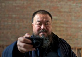 Ai Weiwei, photo: archive of Jihlava International Documentary Film Festival