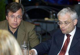 Libor Roucek con Vladimír Spidla de la Socialdemocracia, foto: CTK